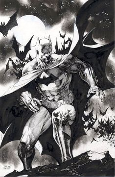 Jim Lee continues his charitable work by drawing Batman for members of the Campell Hall Church affected by the coronavirus Batman Drawing, Batman Artwork, Batman Comic Art, Comic Drawing, Realistic Drawings, Art Drawings, Jim Lee Batman, Jim Lee Art, Univers Dc