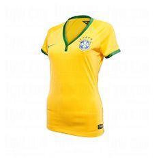 914f85fad76b NIKE WMNS BRASIL S S HOME STADIUM JERSEY 13 14  NIKE  Womens