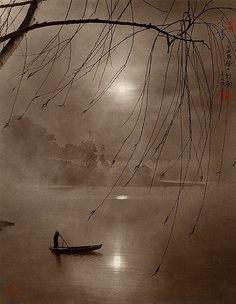 """Winter Fog"" by Don Hong-Oai [Chinese photographer Chinese Painting, Chinese Art, Chinese Prints, Art Asiatique, Art Japonais, Monochrom, Anime Comics, Asian Art, Japanese Art"