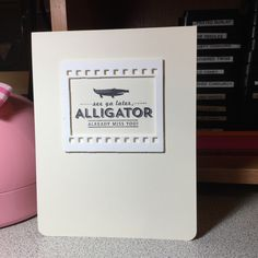 Clean and simple.  Stampin Up! Sale-A-Oration stamp.