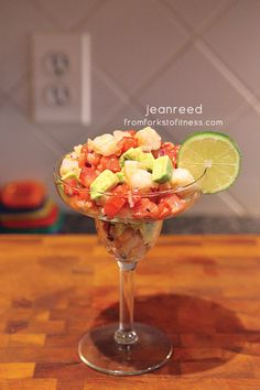 21 Day Fix: Shrimp Ceviche | From Forks to Fitness