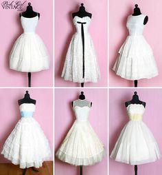 Love this! Cute summer wedding dresses.   http://junebugweddings.com