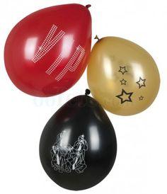 Sachet 6 ballons VIP 25cm