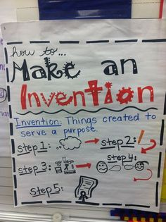 Tabb @ First Grade Awesomeness: african american inventors, cute lesson to sketch an invention, build it, and apply for a patent! Science Curriculum, Teaching Science, Science Education, Teaching Ideas, Gifted Education, Science Lessons, Science Activities, Preschool Lessons, Elementary Science