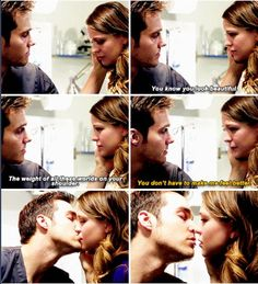 Mon-El was dying but he just wanted to say how beautiful Kara was. #Karamel #Supergirl