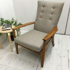 Retro Vintage Classic Parker Knoll Armchair - living room