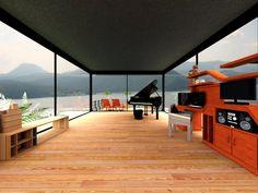 Deck, Outdoor Decor, Home Decor, Houses, Decoration Home, Room Decor, Front Porches, Home Interior Design, Decks