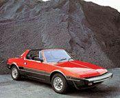 Fiat/Bertone X1/9  学生時代、これが欲しくてしょうがなかった。 Transporter, Fiat