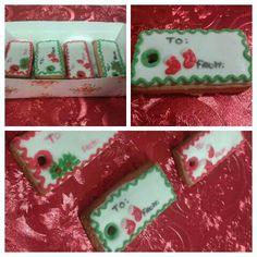 Etiquetas para personalizar regalos em galletas
