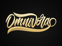 Omnivora designed by Arif Dwi. the global community for designers and creative professionals. Lettering Art, Typography Design, Artist Quotes, Creative Tattoos, Modern Calligraphy, Inktober, Handwriting, Script, Graffiti