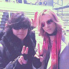 Toshi and Yoshiki X-JAPAN