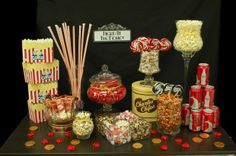 Hostess with the Mostess® - Night at the Movies Candy Buffet