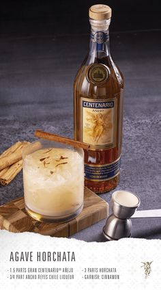 Alcoholic Drinks To Try, Alcohol Drink Recipes, Mix Drinks, Yummy Drinks, Beverages, Horchata, Lasagna Sauce Recipe, Tequila Tequila