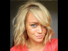 Julianne Hough Safe Haven hair! - YouTube If I ever go short, this is what I will do!