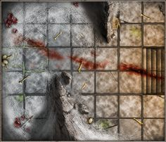 Dungeon tile made with Wacom Bamboo This tile comes from a set I made called…
