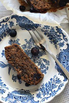 Paciocchi di Francy: Torta al cioccolato con sciroppo di mirtilli ( veg...