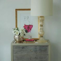 3 Neat Ways to Style a Nightstand  Ever find yourself tossing and turning throughout the night, unable to get back to sleep? Well, it's true what they say -- a neat, organized bedroom can seriously aid in getting a good night's sleep. Nightstands can easily be left forgotten when designing your bedroom, but they have a way of tying the whole look together. Here are a few of our favorite ways to style bedroom nightstands.