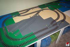 lego train layout   LEGO Train MOCs: Layouts and dioramas