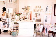 Inside the Bridget Ellery Design Studio, The Tannery, Christchurch, New Zea; Studio, Design, Studios