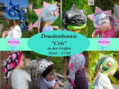 Weiteres - Ebook Drachenbeanie Cris - ein Designerstück von Mamilu-Design bei DaWanda