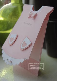 New Baby Girl Card - with Michelle Last