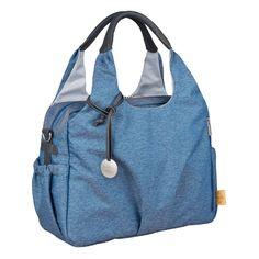 4b9107a565b2 LÄSSIG Wickeltasche Green Label Global Bag Ecoya blue - baby-markt.at