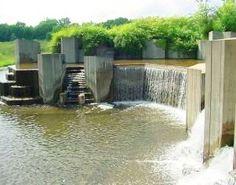 Stepping Stone Falls in Flint Michigan