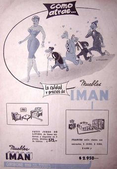 Muebles Imán 1950's