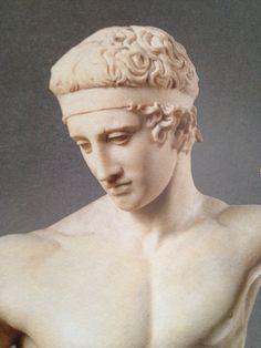 https://flic.kr/p/jm7tuu | Luigi Speranza -- Roma Antica. L'atleta. | Luigi Speranza -- Roma Antica.  Si conoscono più di trenta copie di questa scultura.  La copia detta Farnese presenta leggere varianti (ad esempio nella testa).  Un grosso frammento di epoca flavia, restaurato e reintegrato successivamente, si trova nel Metropolitan Museum di New York.   Una copia  è al Museo Barracco di Roma e una al Museo nazionale di Venosa.