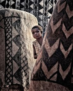 Travel Photographer Winner - Louis. life in Tiebele, the painted village of the Gurunsi people in southern Burkina Faso