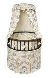 Badger Basket Elegance Round Bassinet - We've found the most charming and unique place for your newborn to snooze. The Badger Basket Elegance Round Bassinet is a special round bassinet that's.