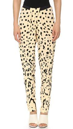 Willow animal print pants (for more animal prints -- http://chicityfashion.com/animal-prints/)