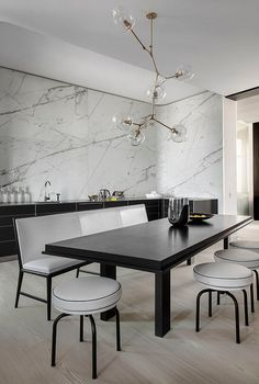 Minimalist - Kitchen Dining -  source: https://homeadore.com/