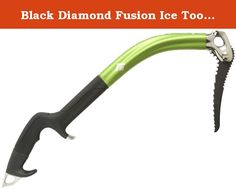 Black Diamond Fusion Ice Tool, 50cm, Grey. Our premier mixed tool for modern, leash less winter climbing, the fusion performs like no other tool ever made thanks to the combination of its Radical design and single-piece hydro formed shaft and acute hand-to-pick angle. Incredibly lightweight, stiff and versatile, its top-of-the-line technology shines through in real world, game-changing performance on both rock and ice.