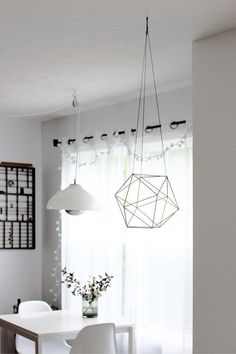 How to make hanging decor with straws diy diy crafts do it yourself trend to try himmeli find this pin and more on diy solutioingenieria Images
