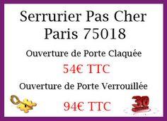 Les Serruriers Pas Cher Paris Ont Le Goût De La Perfection Nous - Ouverture de porte paris 20