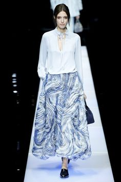 Giorgio Armani - chic - cool textures and surface patterns