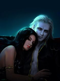 ✿ Society 6 ✿ Facebook _________________________________________________________________________________________ Another commission for for her characters Dmitrii and Mer-Is...