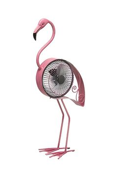Loving this Pink Flamingo USB Table Fan on