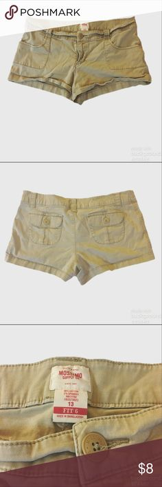 Mossimo Chino Shorts Euc. Tan Chino shorts mossimo fit 6. Mossimo Supply Co. Shorts
