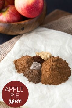 Apple Pie Spice - A fragrant blend of fall spices! It smells heavenly ...