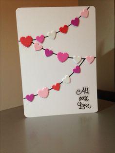 Heart Hot Air Balloon Cards- set of 4 Creative Birthday Cards, Homemade Birthday Cards, Creative Cards, Homemade Cards, Homemade Anniversary Cards, Paper Cards, Diy Cards, Birthday Card Drawing, Tarjetas Diy