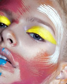 makeup brish Isabella Farrell by Ruo Bing Lee for Vantage Shanghai September 2015