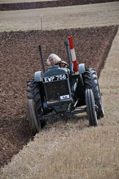 standard fordson doing a bit of ploughing - Google Search