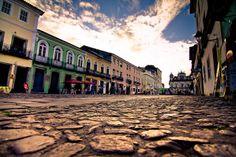 Pelourinho, the historical center of the city of Salvador de Bahia