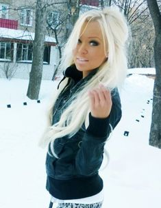 i want my hair this white!!