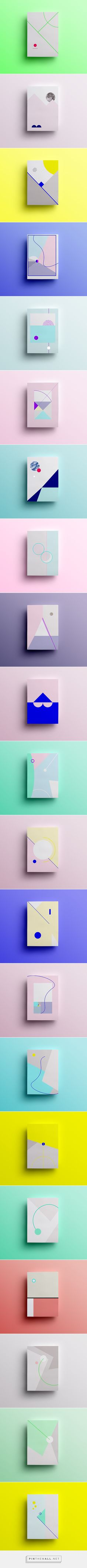 Nice Composition, Geometry, Colors Isabella Conticello ● A GEO A DAY ■ on Behance - created via http://pinthemall.net.