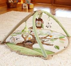 Shop farm activity gym from Pottery Barn Kids. Find expertly crafted kids and baby furniture, decor and accessories, including a variety of farm activity gym. Baby Activity Gym, Activity Mat, Owl Activities, Baby Shower Gifts, Baby Gifts, Owl Nursery, Nursery Ideas, Nursery Decor, Room Ideas