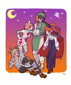 RWBY JNPR Halloween
