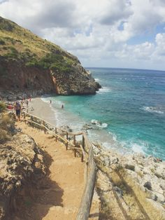 Steps to Zingaro Beach, Sicily Sicily, Travel Pictures, Around The Worlds, Photo And Video, Beach, Water, Outdoor, Instagram, Travel Photos